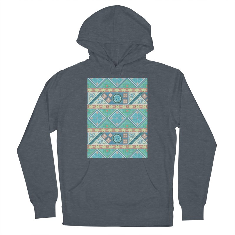 Pysanky Men's French Terry Pullover Hoody by Svaeth's Artist Shop