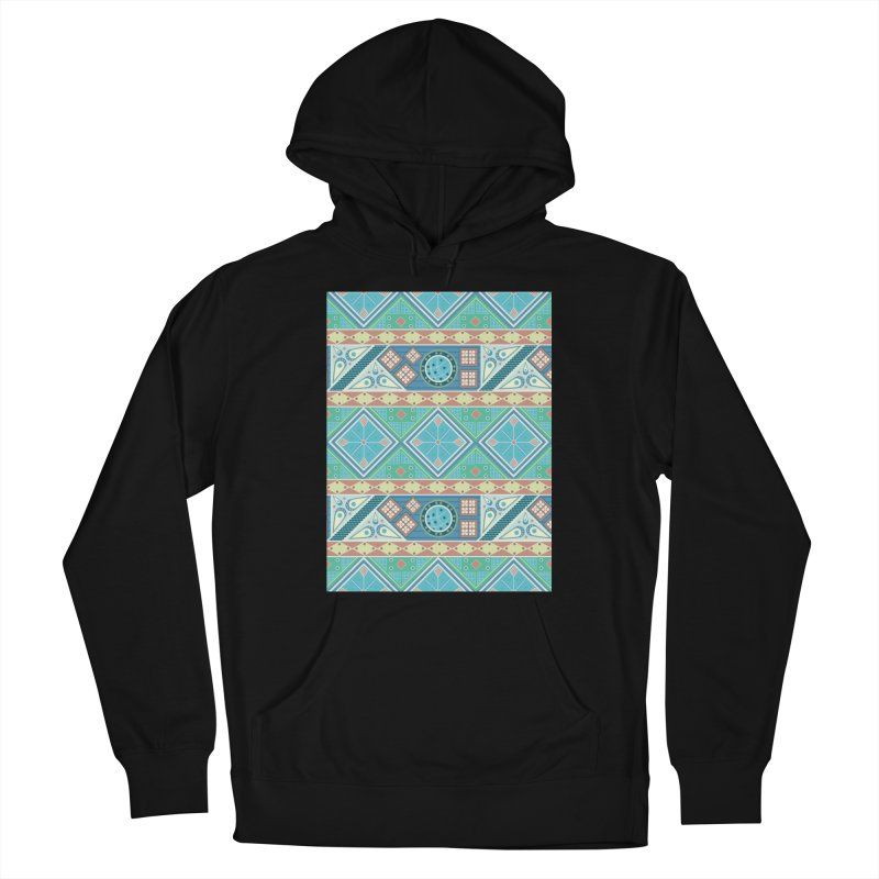 Pysanky Women's French Terry Pullover Hoody by Svaeth's Artist Shop