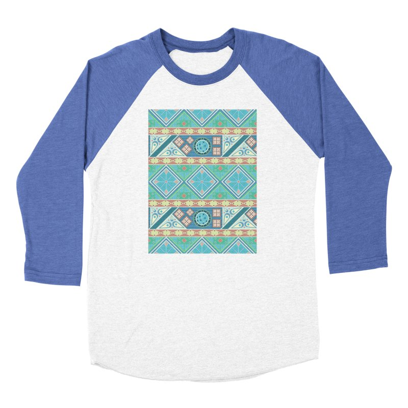 Pysanky Men's Baseball Triblend Longsleeve T-Shirt by Svaeth's Artist Shop