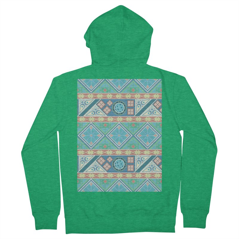 Pysanky Men's Zip-Up Hoody by Svaeth's Artist Shop