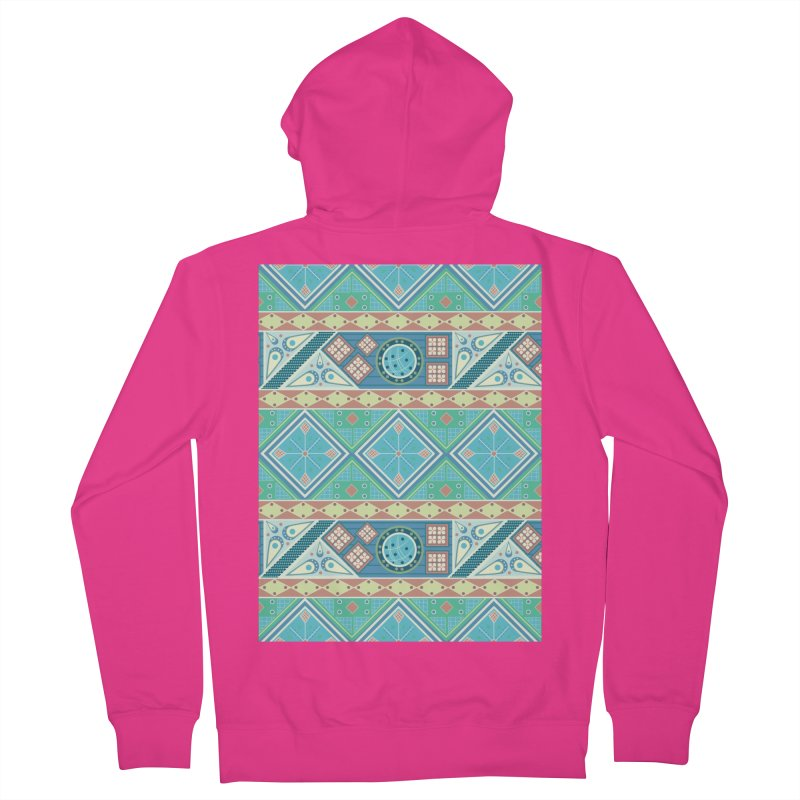 Pysanky Men's French Terry Zip-Up Hoody by Svaeth's Artist Shop