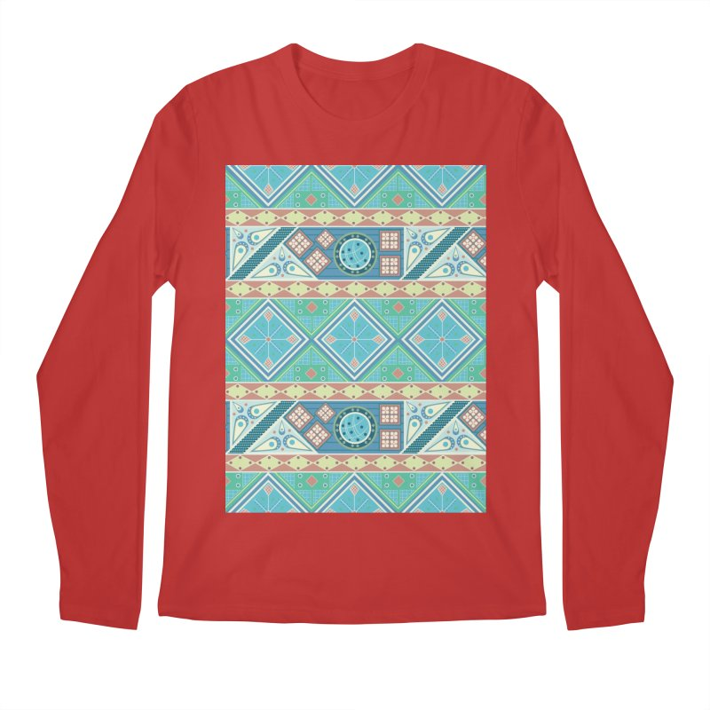 Pysanky Men's Regular Longsleeve T-Shirt by Svaeth's Artist Shop