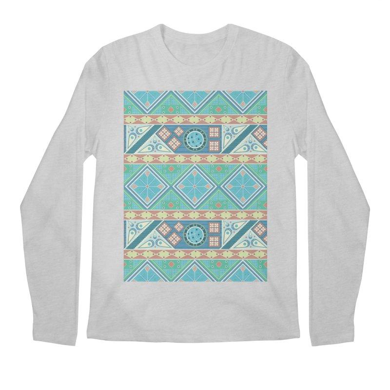 Pysanky Men's Regular Longsleeve T-Shirt by Svaeth's Artist Shop