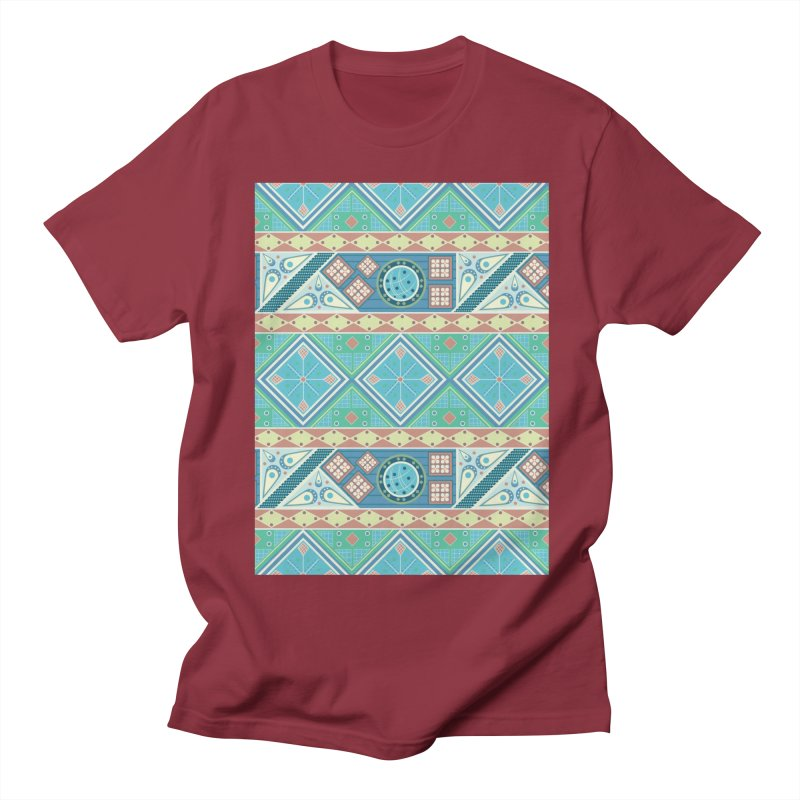 Pysanky Men's Regular T-Shirt by Svaeth's Artist Shop