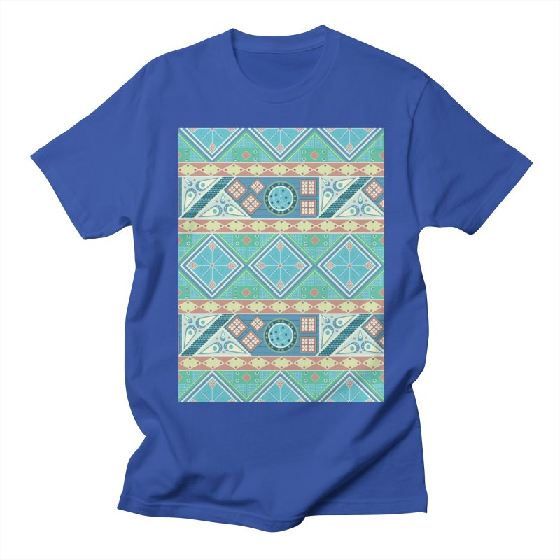Pysanky Men's Regular T-Shirt by Svaeth's Artist Shop