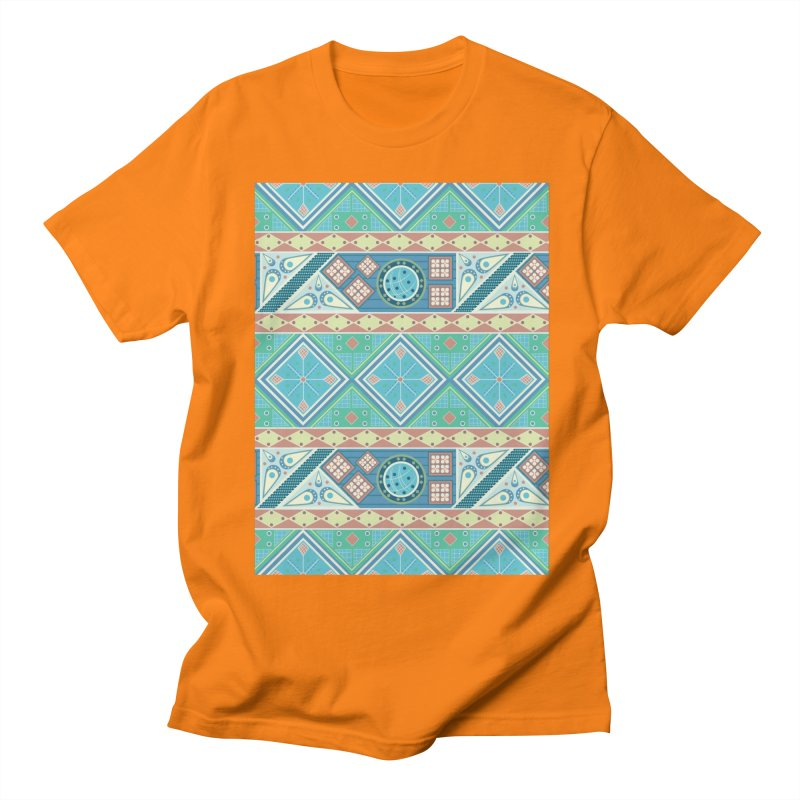 Pysanky Men's T-Shirt by Svaeth's Artist Shop