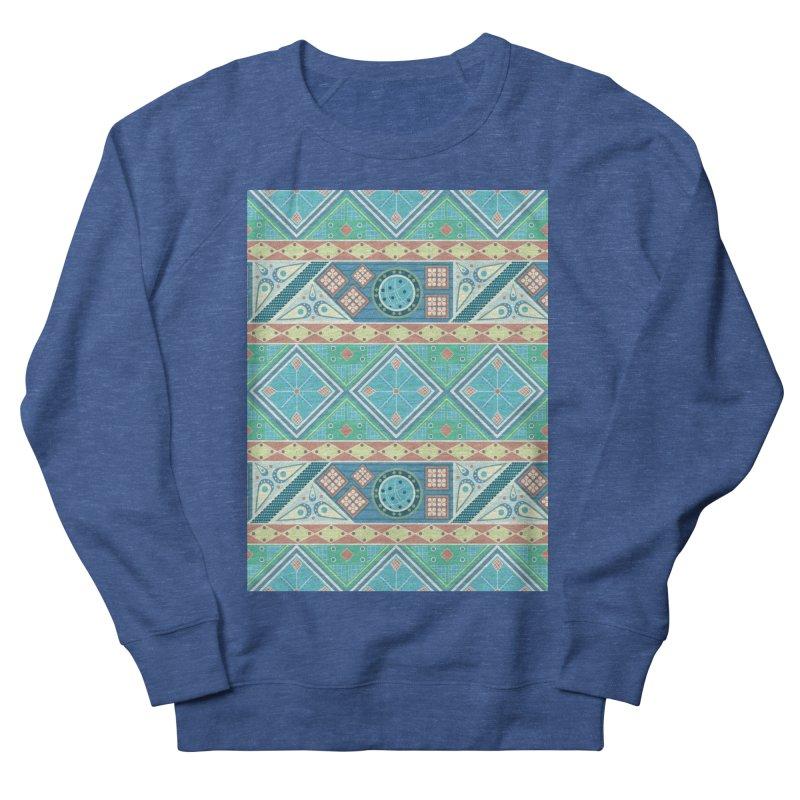 Pysanky Women's French Terry Sweatshirt by Svaeth's Artist Shop