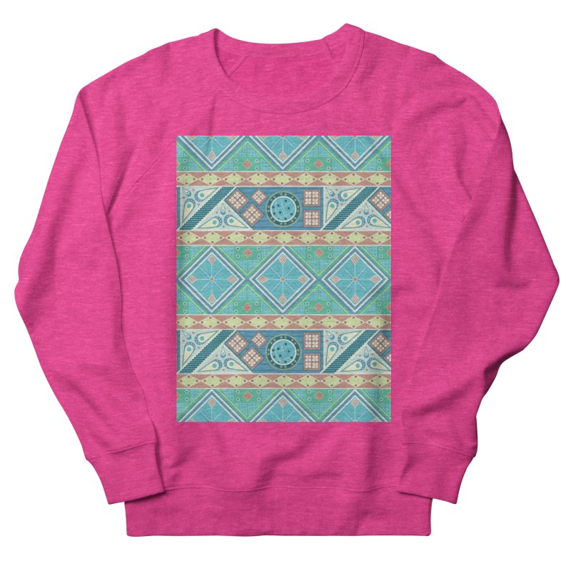 Pysanky Women's French Terry Sweatshirt by Svaeth's Artist Shop