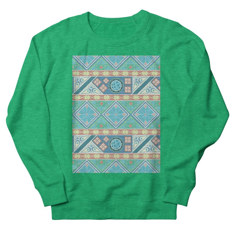 Pysanky Men's French Terry Sweatshirt by Svaeth's Artist Shop