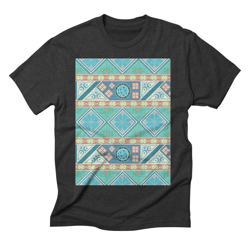 Pysanky Men's Triblend T-Shirt by Svaeth's Artist Shop