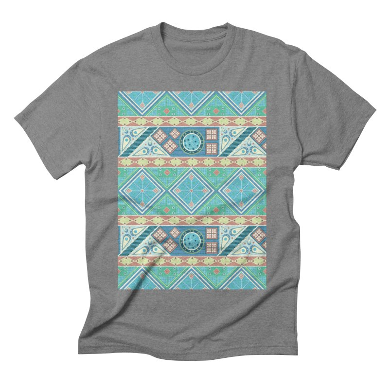 Pysanky Men's Triblend T-Shirt by Svaeth's Artist Shop