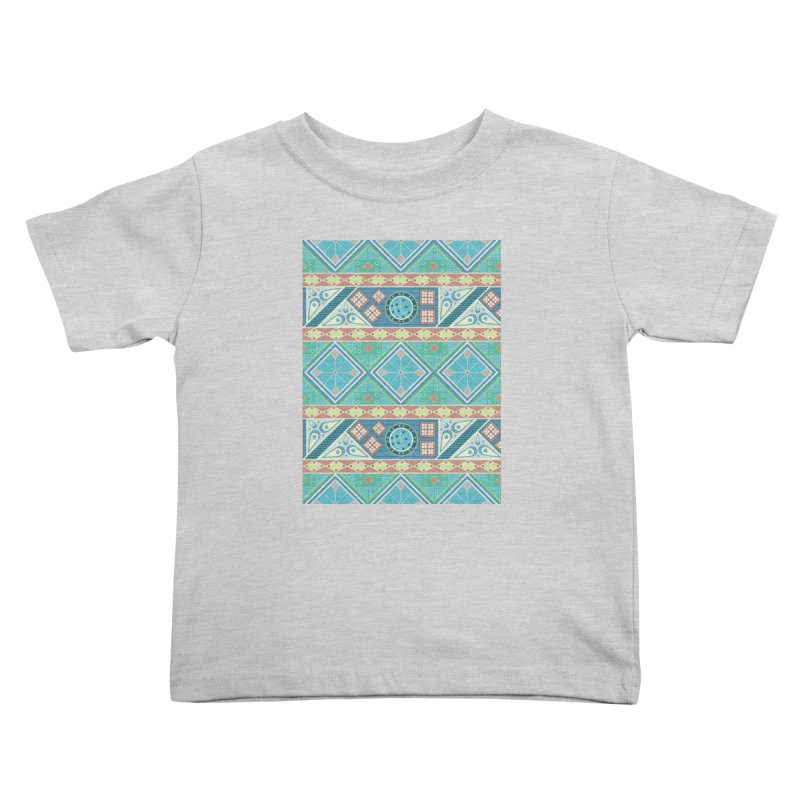 Pysanky Kids Toddler T-Shirt by Svaeth's Artist Shop