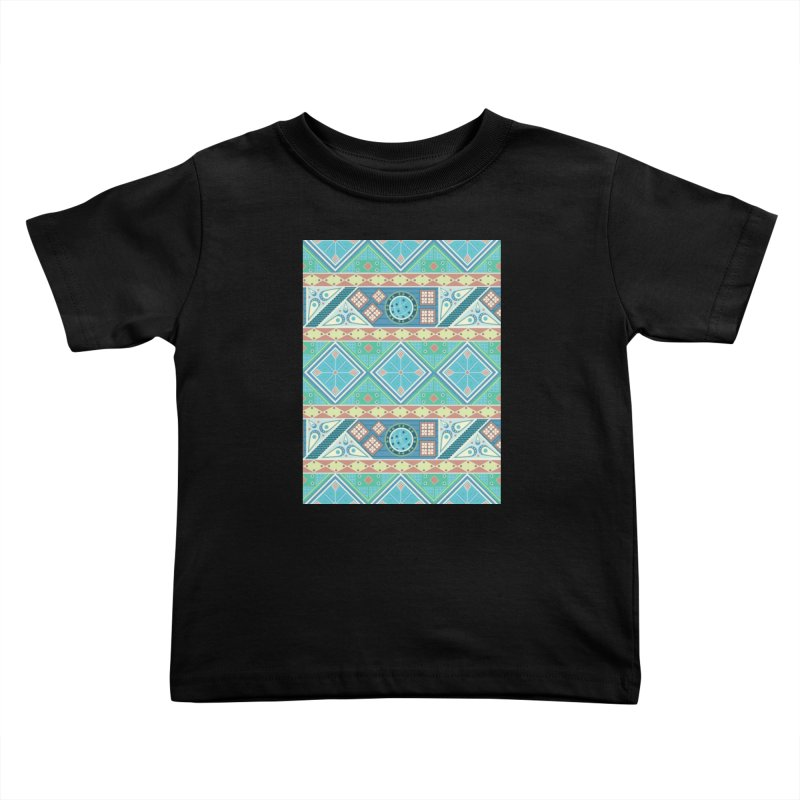 Pysanky Kids Toddler T-Shirt by Svaeth's Artist Shop