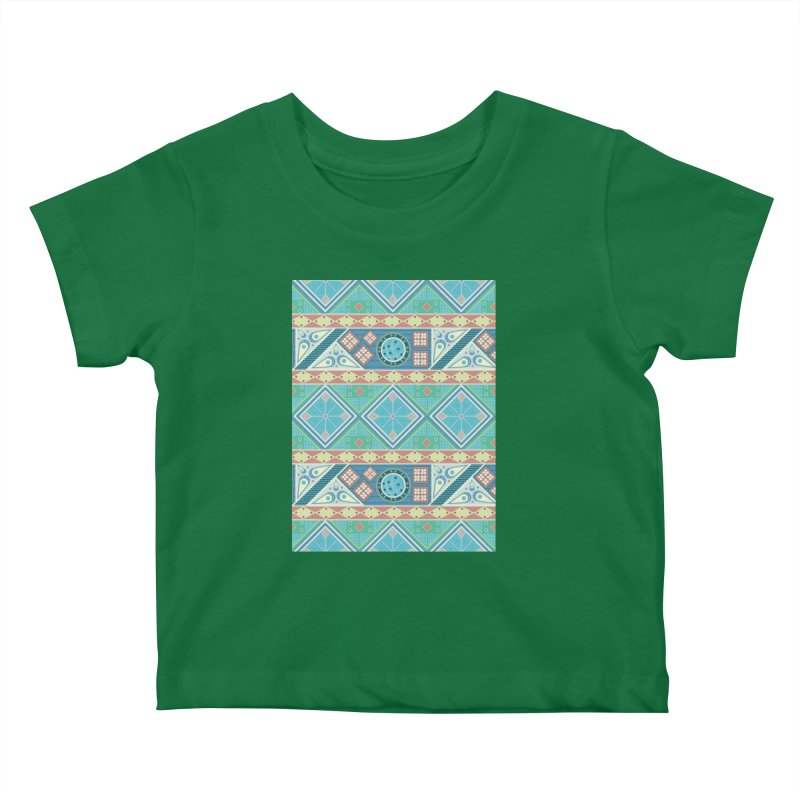Pysanky Kids Baby T-Shirt by Svaeth's Artist Shop