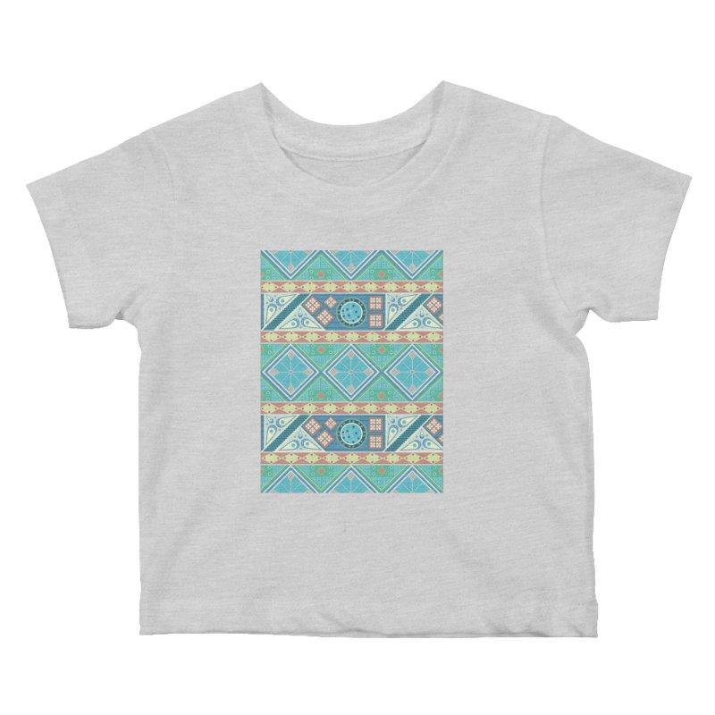 Pysanky Kids Baby T-Shirt by Svaeth's Artist Shop