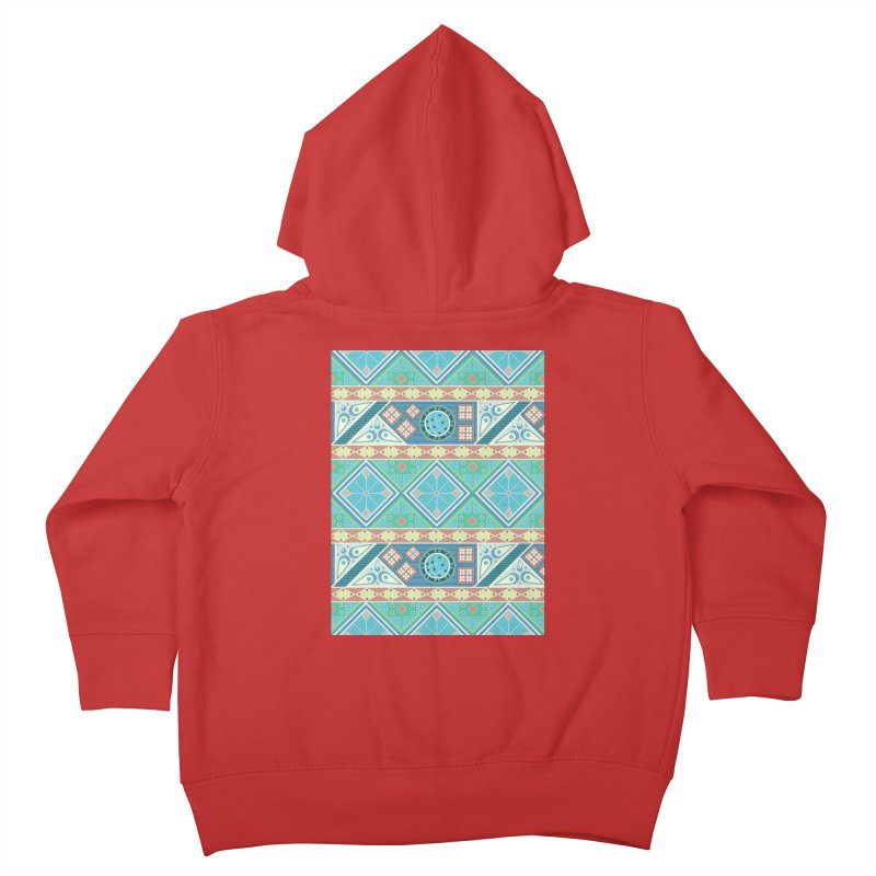 Pysanky Kids Toddler Zip-Up Hoody by Svaeth's Artist Shop