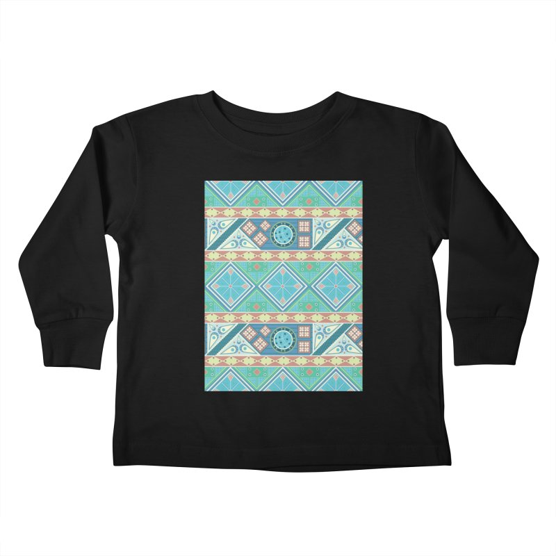 Pysanky Kids Toddler Longsleeve T-Shirt by Svaeth's Artist Shop