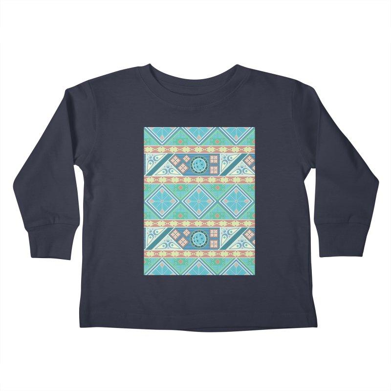 Pysanky Kids Toddler Longsleeve T-Shirt by Svaeth's Artist Shop