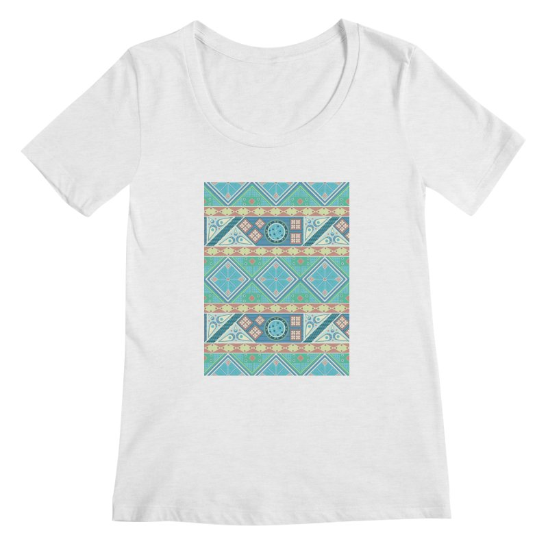 Pysanky Women's Scoop Neck by Svaeth's Artist Shop