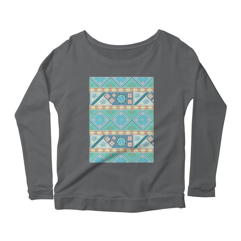 Pysanky Women's Scoop Neck Longsleeve T-Shirt by Svaeth's Artist Shop