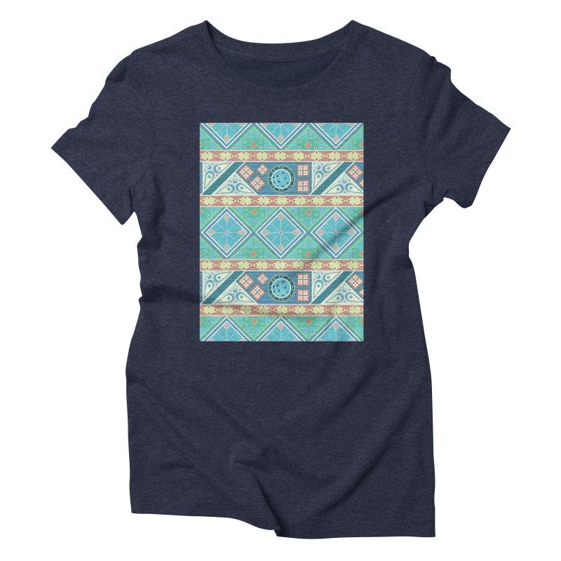 Pysanky Women's Triblend T-Shirt by Svaeth's Artist Shop
