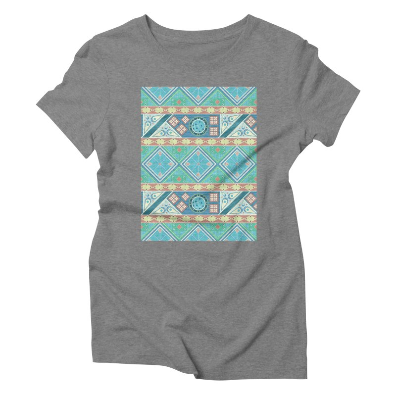 Pysanky Women's Triblend T-Shirt by Svaeth's Artist Shop