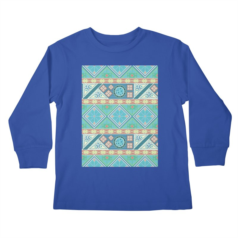 Pysanky Kids Longsleeve T-Shirt by Svaeth's Artist Shop