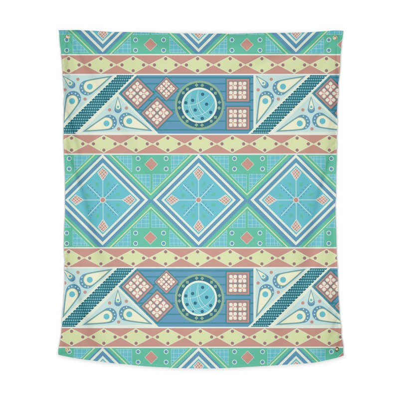 Pysanky Home Tapestry by Svaeth's Artist Shop