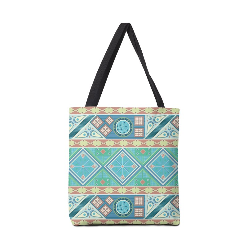 Pysanky Accessories Tote Bag Bag by Svaeth's Artist Shop