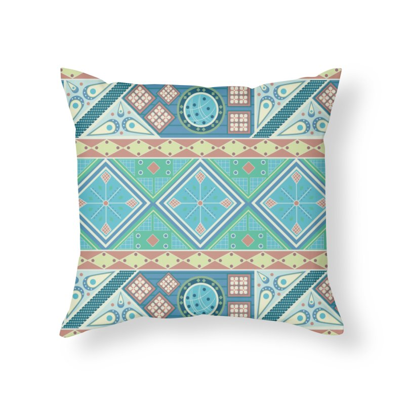 Pysanky Home Throw Pillow by Svaeth's Artist Shop