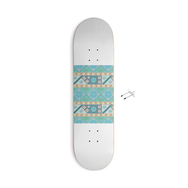 Pysanky Accessories Skateboard by Svaeth's Artist Shop