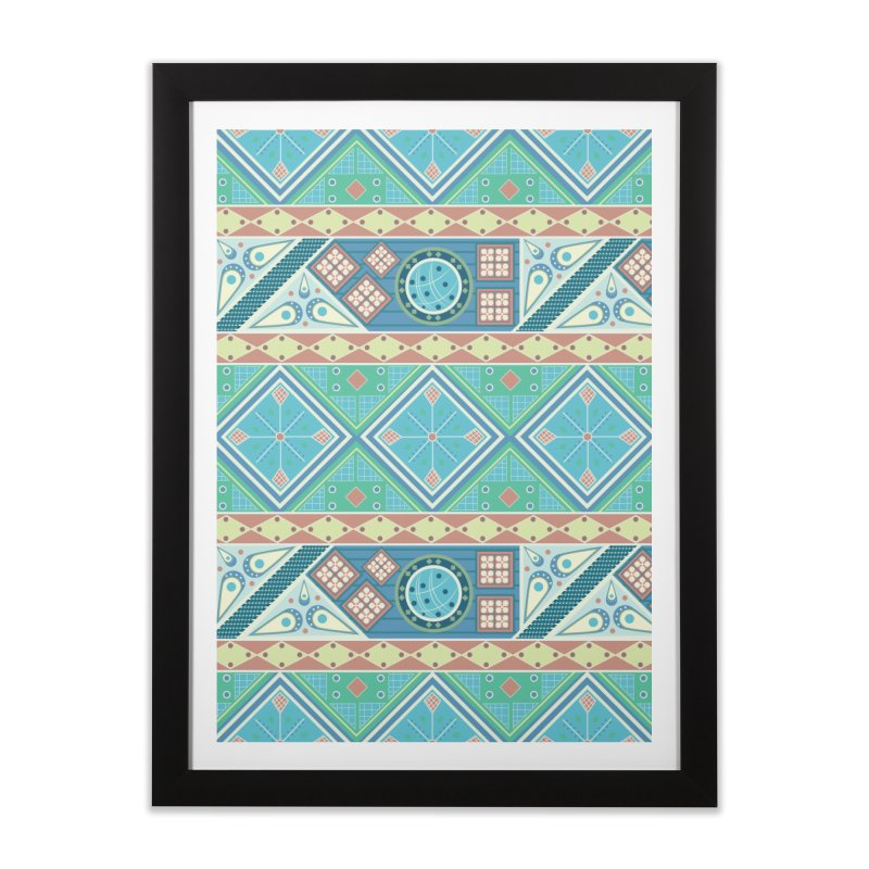 Pysanky Home Framed Fine Art Print by Svaeth's Artist Shop