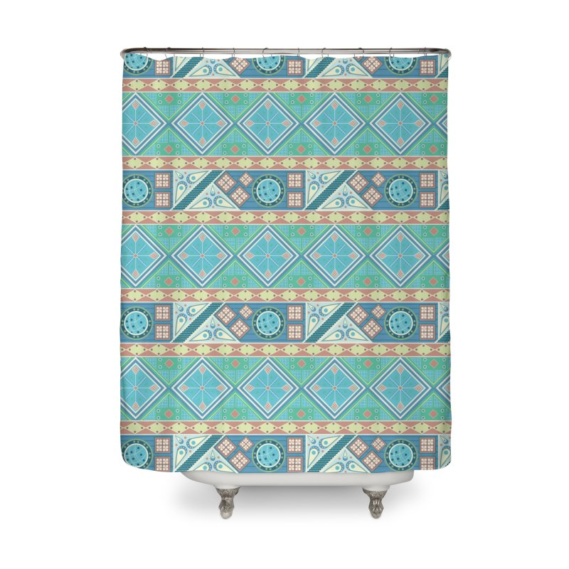 Pysanky Home Shower Curtain by Svaeth's Artist Shop