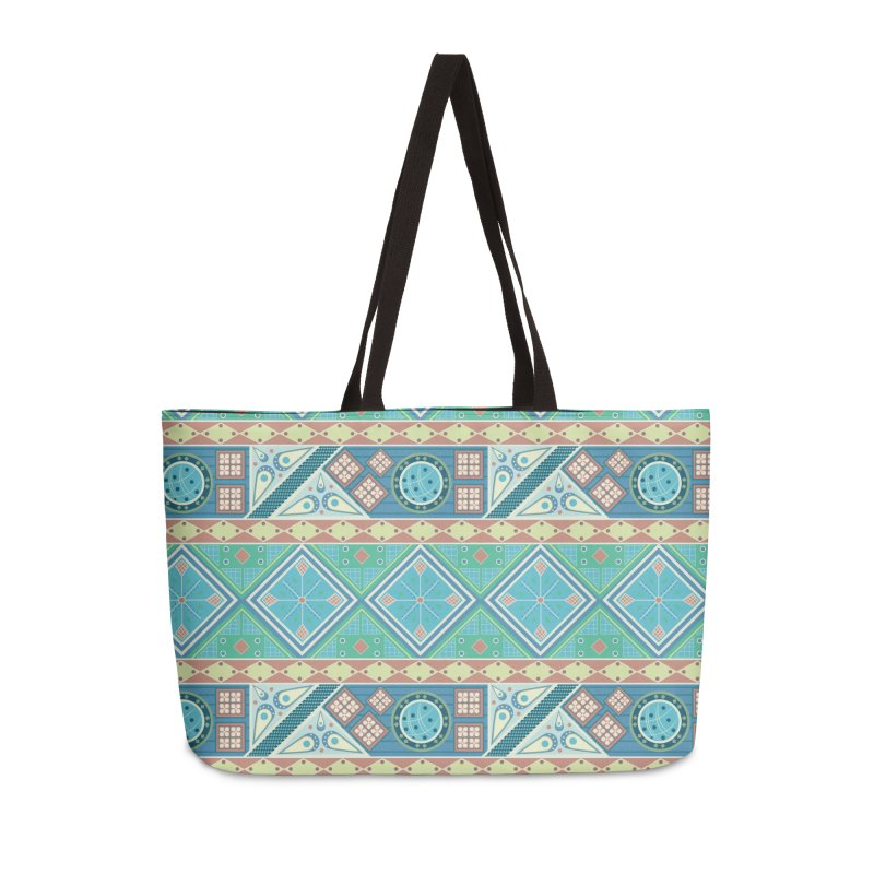 Pysanky Accessories Weekender Bag Bag by Svaeth's Artist Shop