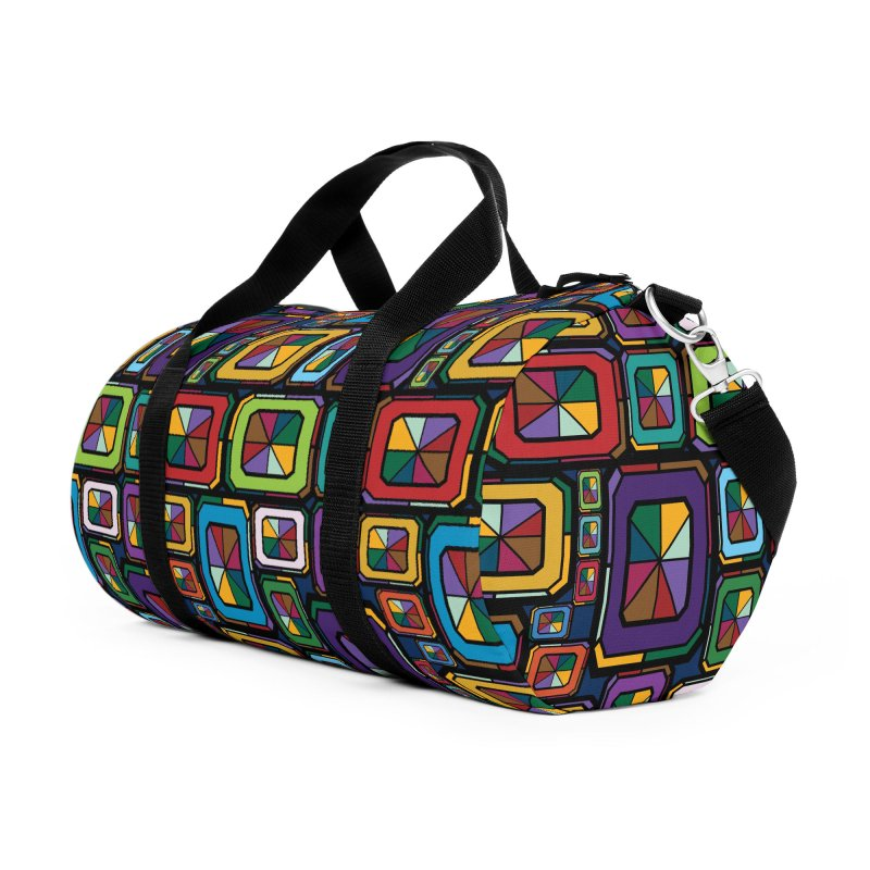 Stained Glass Gems Accessories Bag by Svaeth's Artist Shop