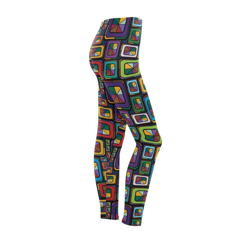 Stained Glass Gems Women's Bottoms by Svaeth's Artist Shop