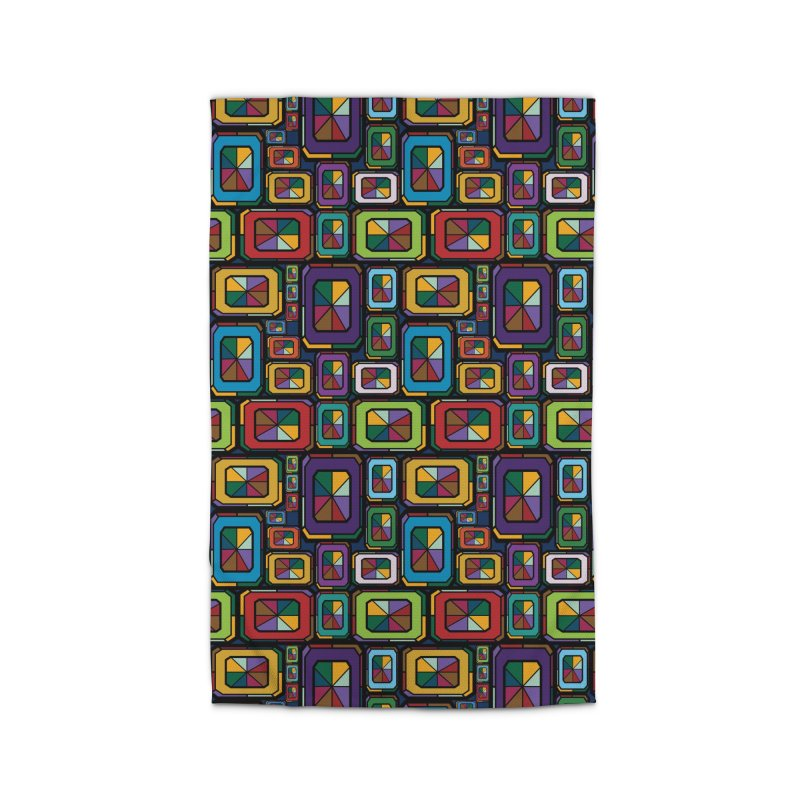 Stained Glass Gems Home Rug by Svaeth's Artist Shop