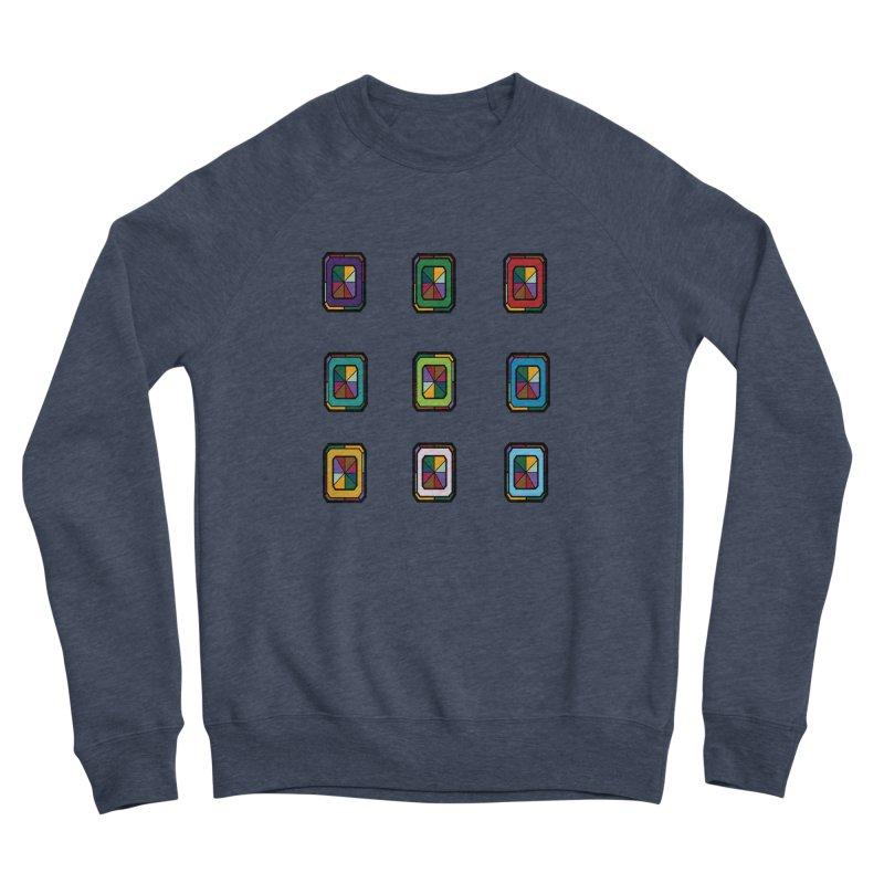 Stained Glass Gems Women's Sponge Fleece Sweatshirt by Svaeth's Artist Shop