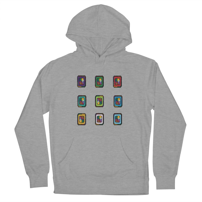 Stained Glass Gems Women's Pullover Hoody by Svaeth's Artist Shop