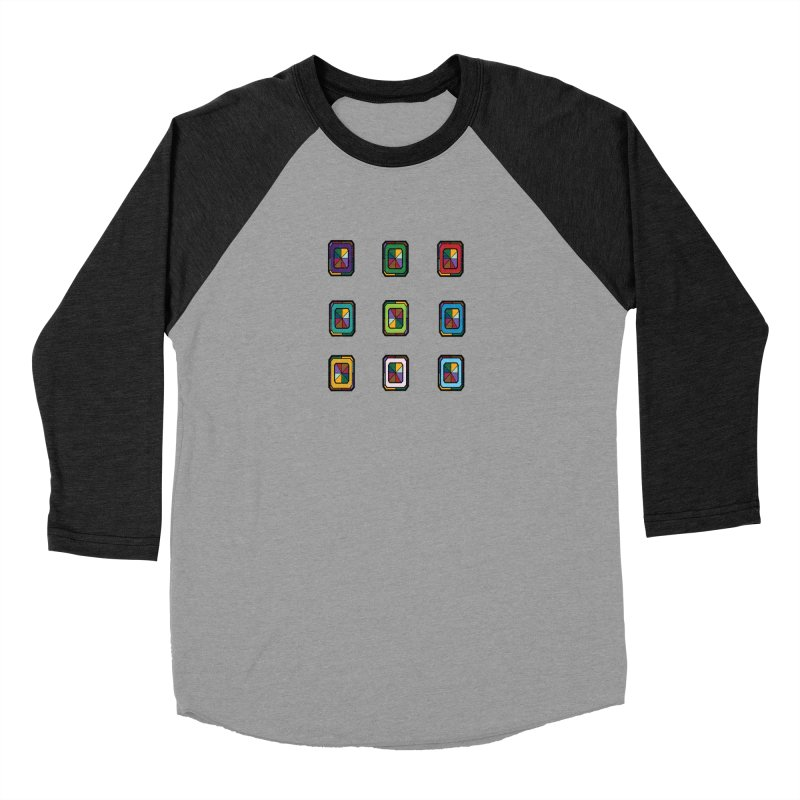Stained Glass Gems Women's Longsleeve T-Shirt by Svaeth's Artist Shop