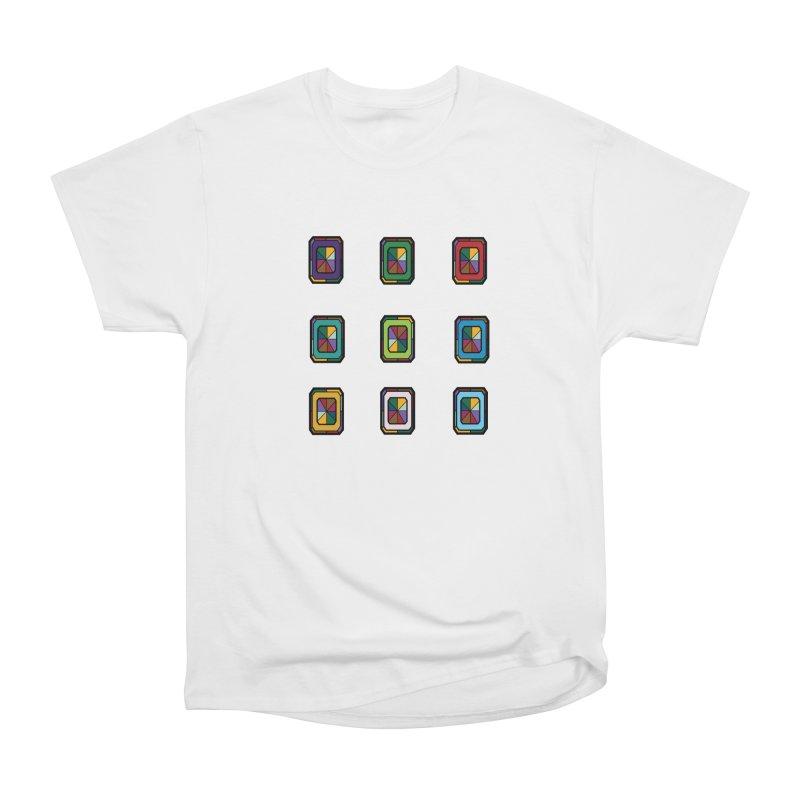 Stained Glass Gems Men's Heavyweight T-Shirt by Svaeth's Artist Shop