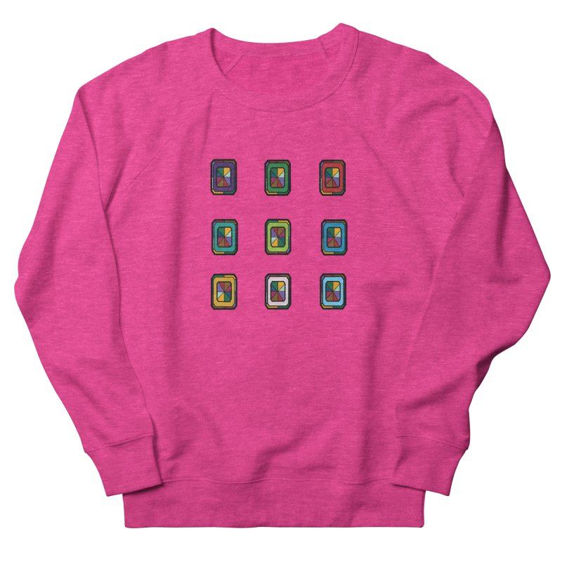 Stained Glass Gems Men's Sweatshirt by Svaeth's Artist Shop