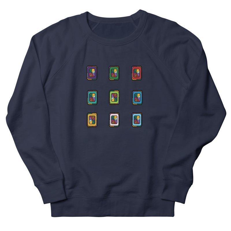 Stained Glass Gems Men's Sweatshirt by Svaeth's Artist Shop