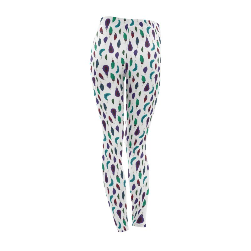 Vibrant Feathers Women's Bottoms by Svaeth's Artist Shop
