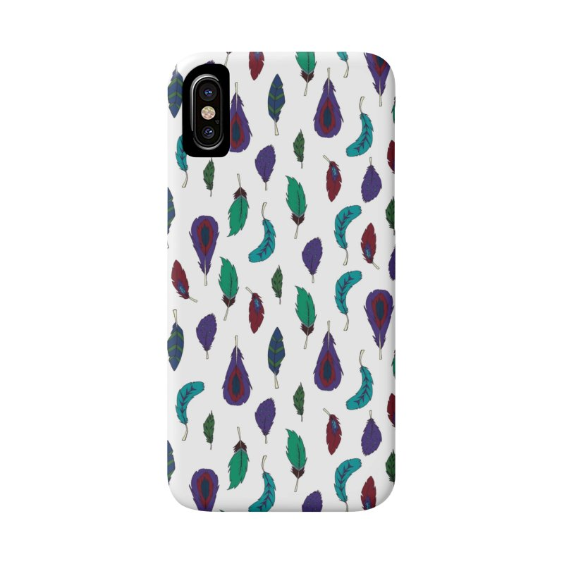 Vibrant Feathers Accessories Phone Case by Svaeth's Artist Shop