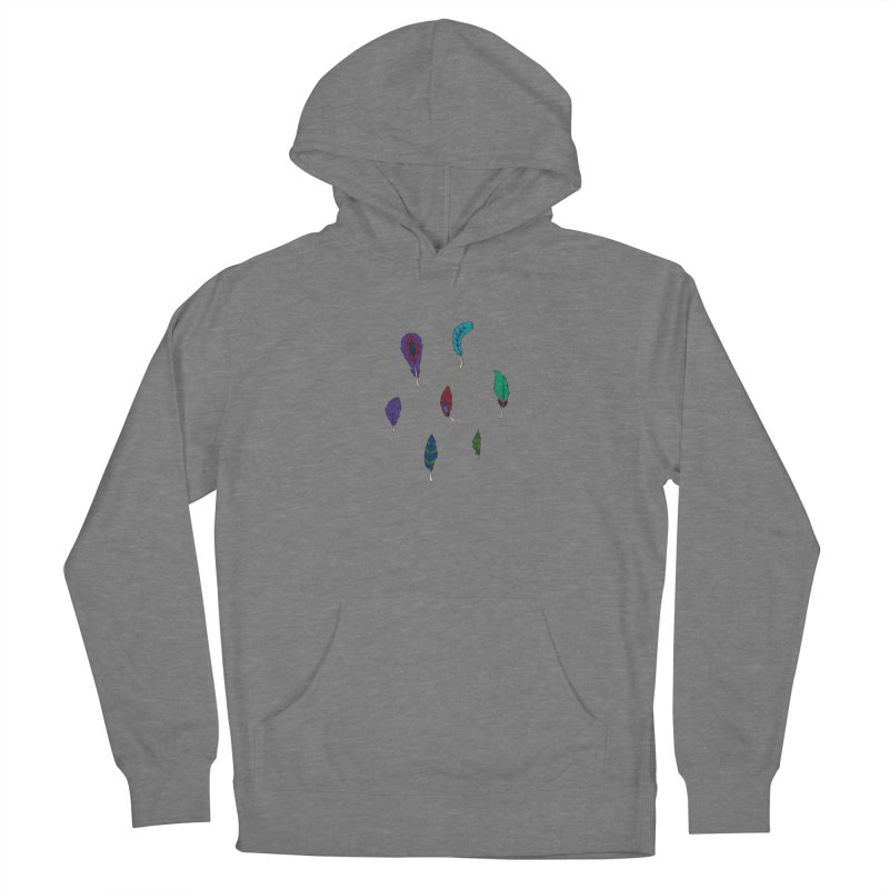 Vibrant Feathers Women's Pullover Hoody by Svaeth's Artist Shop