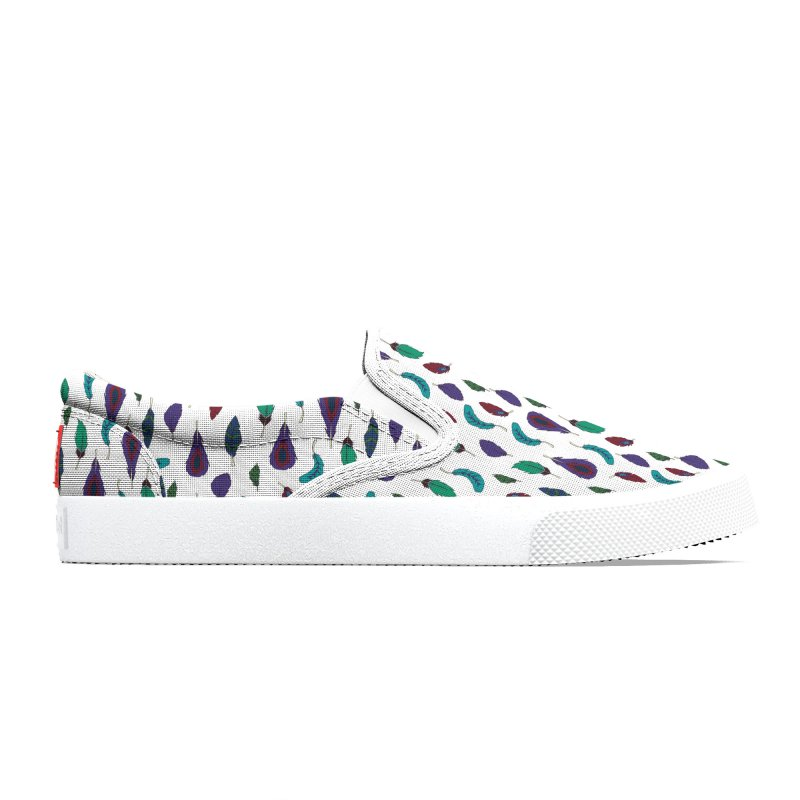Vibrant Feathers Men's Shoes by Svaeth's Artist Shop
