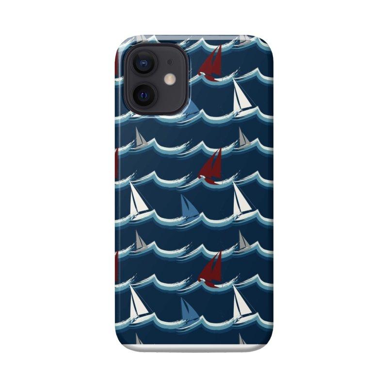 Nautical Sailing Accessories Phone Case by Svaeth's Artist Shop