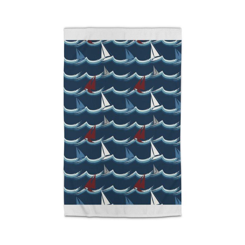 Nautical Sailing Home Rug by Svaeth's Artist Shop