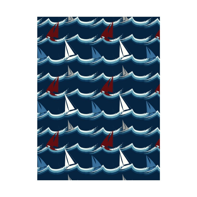 Nautical Sailing Accessories Sticker by Svaeth's Artist Shop